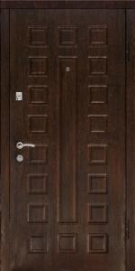 Стальная дверь Люкс беленый дуб