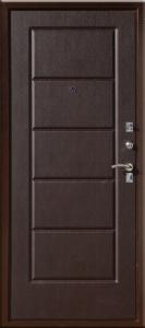 Стальная дверь Юг 03 итальянский орех