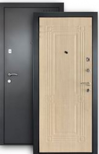 Входная дверь Лайн беленый дуб