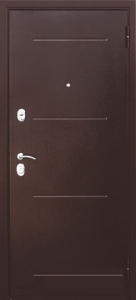 Входная дверь Гарда 75 венге