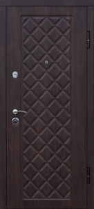Входная дверь Kamelot темн. вишня/бел. дуб