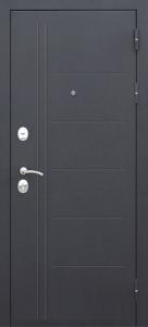 Входная дверь Троя 100 муар/лист. мокко