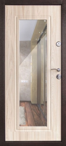 Входная дверь Элегия беленый дуб