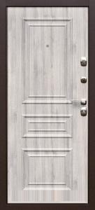 Входная дверь Эстет беленый дуб