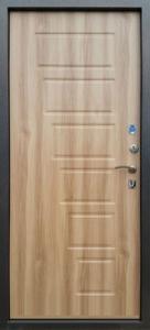 Входная дверь 2К серебро/вяз барон