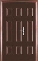 Входная стальная дверь Форпост СМ 02 двустворчатая