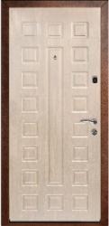 Входная дверь Люкс беленый дуб