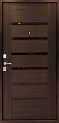 Стальная дверь Оптима-С венге
