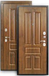 Входная дверь Канцлер 2К грецкий орех