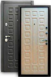 Входная дверь Сенатор 3К белая лиственница
