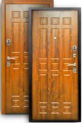 Входная дверь Спарта 3К дуб темный