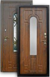 Входная дверь Лацио 3К грецкий орех