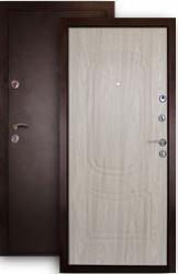 Входная дверь Фаворит беленый дуб