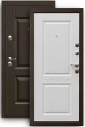 Входная дверь Гранд белый матовый