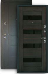 Входная дверь Сити-С венге