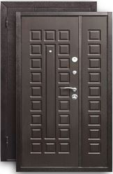 Двустворчатая дверь Йошкар D-1200 венге