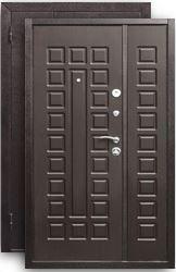 Двустворчатая дверь Йошкар D-1300 венге