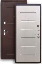 Входная дверь Гарда 75 белый ясень