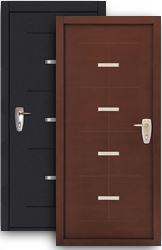 Входная дверь Titan венге