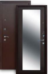 Стальная дверь Цитадель Царское Зеркало MAXI венге