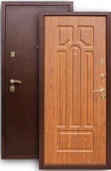Входная дверь 5А береза мореная