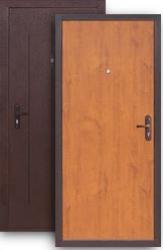 Техническая дверь Стройгост 5-1 дуб золотистый
