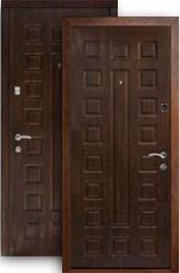 Входная дверь Континент Люкс венге