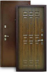 Входная дверь Кантри дуб коньяк