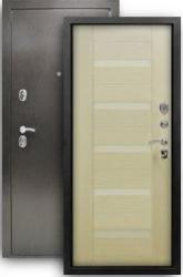 Входная дверь Люкс 3К белая лиственница