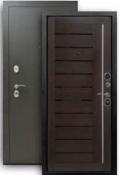 Входная дверь Бордо 3К темный орех