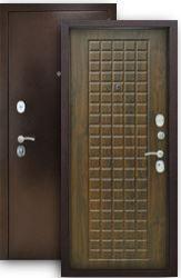 Входная дверь Титан 3К грецкий орех