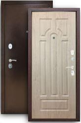 Входная дверь Титан 3К арка, сосна белая