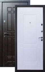 Входная дверь Стайл 2К венге/ампир бел.дуб