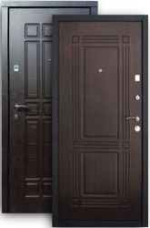 Входная дверь Стайл 2К венге/венге