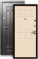 Входная дверь Стайл 2К платина/стиль бел.дуб