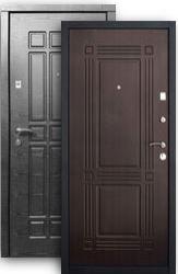 Входная дверь Стайл 2К платина/венге