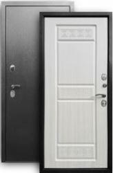Входная дверь 3К Афина серебро/sim светлый