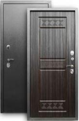 Входная дверь 3К Афина серебро/sim темный