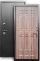 Входная дверь 3К Стайл серебро/шимо тем