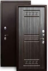 Входная дверь 3К Афина медь/sim темный
