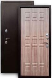 Входная дверь 3К Стайл медь/шимо тем