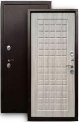 Входная дверь 3К Щит медь/шимо св