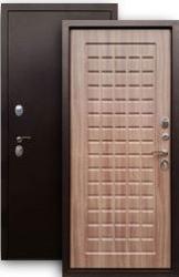 Входная дверь 3К Щит медь/шимо тем