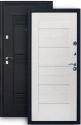 Входная дверь 2К+ 7Х беленый дуб
