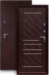 Входная дверь 2К медь/венге