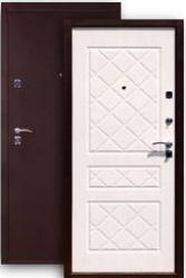 Входная дверь 2К медь/бел.дуб
