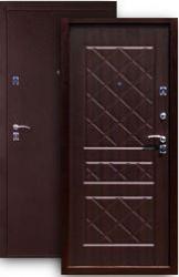 Входная дверь 2К медь/венге MINI