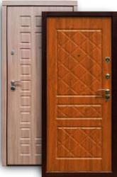 Входная дверь 2К шимо темн./дуб золотой