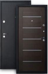Входная дверь ХИТ-7 шелк/венге