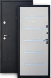 Входная дверь ХИТ-8 шелк/беленый дуб